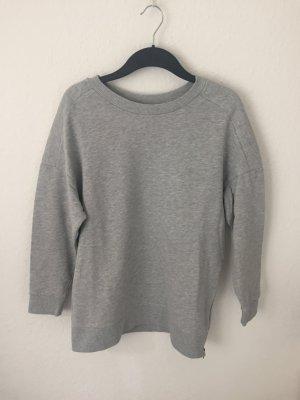 H&M Trend Sweatshirt Grau