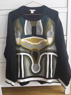 h&m Trend Sweatshirt L bestickt oversize Marant Look studio