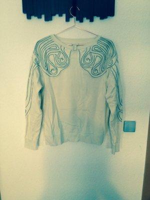 H&M Trend Sweatshirt mit perlen boho hippie