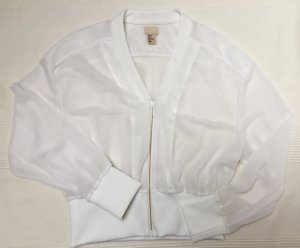 H&M Trend transparente kurze Blousonjacke Größe 38