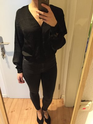 H&M Trend  Wickel Bluse mit Muster