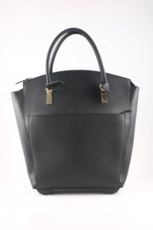 H&M Trolley black-gold-colored business style