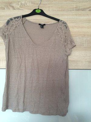 H&M Tshirt Größe M, beige