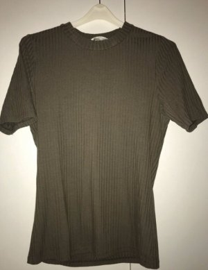 H&M tshirt khaki Farbe