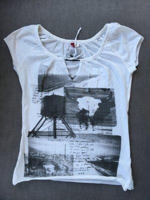 H&M Tshirt, Sommer, mit Druck, neuwertig