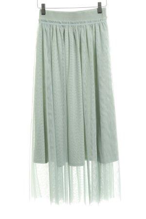 H&M Falda de tul menta look casual