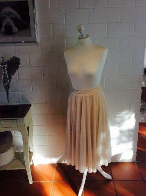 H&M Tüllrock Pettycoat Nude Look Retro Vintage Pastell Größe s/ 36