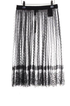 H&M Tulle Skirt black elegant