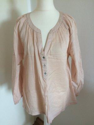 H&M Tunika Bluse 38 M neu puder rosa
