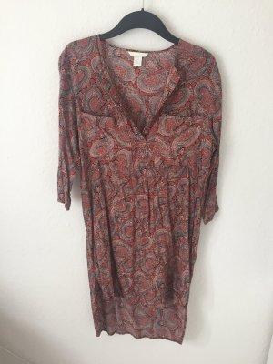H&M Tunika Kleid gemustert