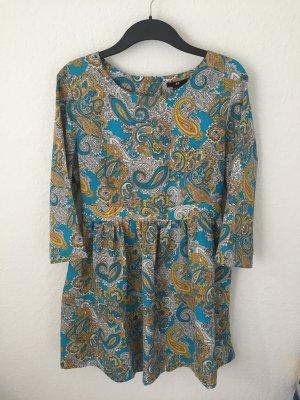 H&M Tunika Kleid mit Paiselymuster