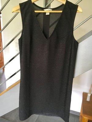 H&M Tunika Minikleid Glitzer S
