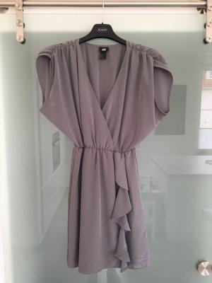 ❤️ H&M Tunika mittelgraues wunderschönes Kleid wie neu! ❤️