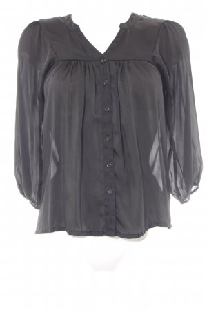H&M Tunikabluse schwarz Elegant