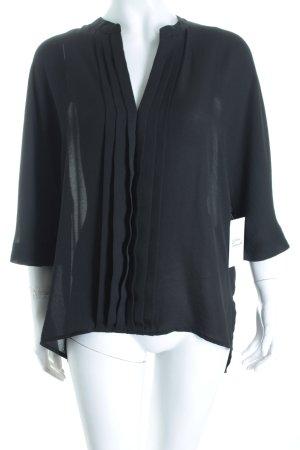 H&M Tunikabluse schwarz klassischer Stil