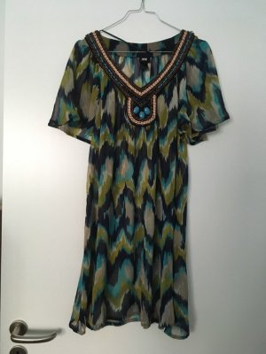 H&M Robe tunique multicolore