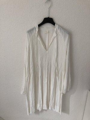 H&M Abito a tunica crema-bianco sporco