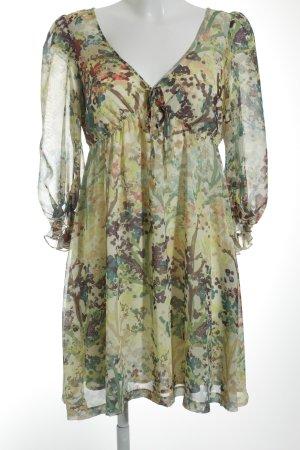 H&M Tunic Dress floral pattern beach look