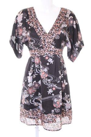 H&M Tunikakleid florales Muster schlichter Stil