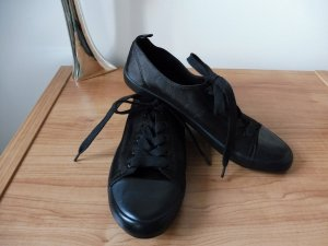 H&M Turnschuhe Gr 39 Sneaker satinartiger Stoff