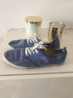 H&M Turnschuhe weiß blau Gr 40