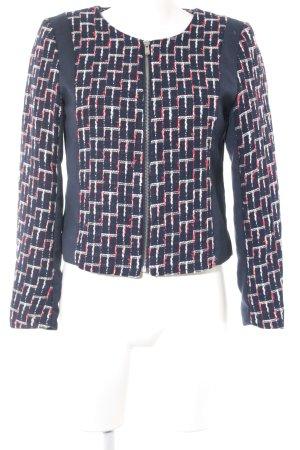 H&M Tweedblazer abstraktes Muster Business-Look