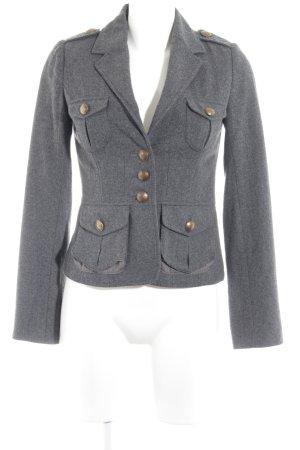 H&M Tweedblazer grau Street-Fashion-Look