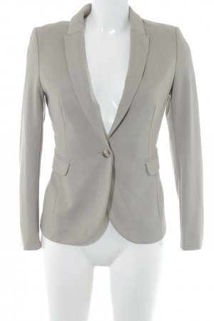 H&M Tweedblazer hellbraun Business-Look