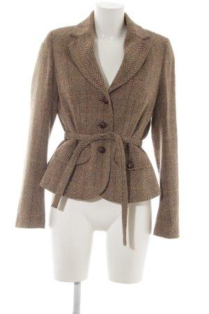 H&M Tweed blazer geruite print college stijl