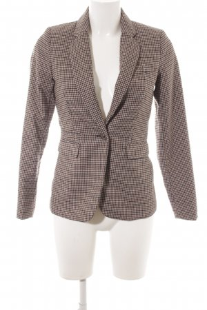 H&M Tweedblazer Pepitamuster Casual-Look