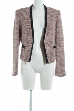 H&M Tweedblazer rosé-orange klassischer Stil