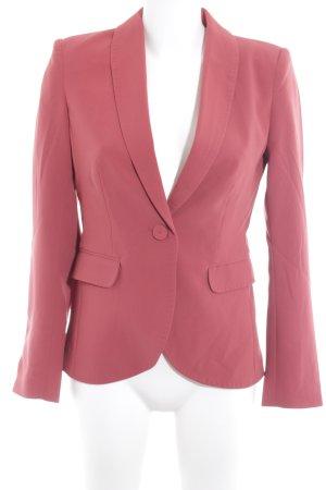 H&M Tweed blazer roodbruin zakelijke stijl