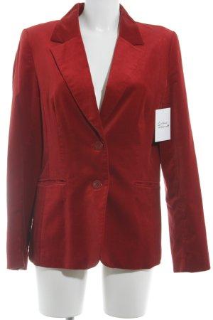 H&M Tweedblazer rot extravaganter Stil