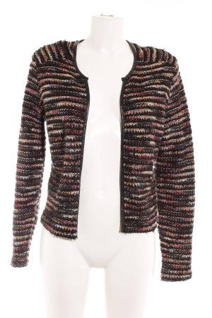 H&M Tweed blazer gestreept patroon casual uitstraling