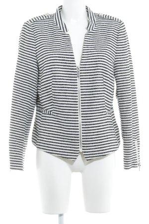 H&M Tweed blazer gestreept patroon elegant