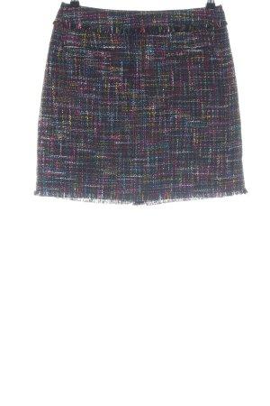 H&M Tweed rok volledige print zakelijke stijl