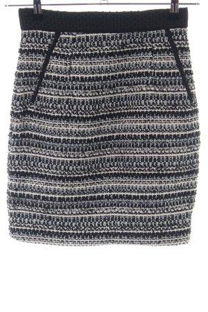 H&M Tweed rok grafisch patroon casual uitstraling