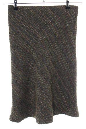 H&M Tweed Skirt flecked street-fashion look