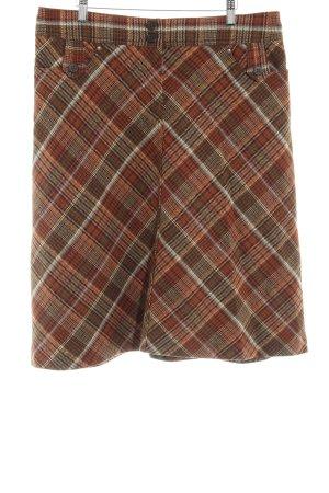 H&M Jupe en tweed motif à carreaux style anglais