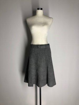 H&M Tweed rok zwart-grijs