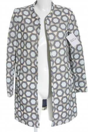 H&M Übergangsjacke abstraktes Muster extravaganter Stil