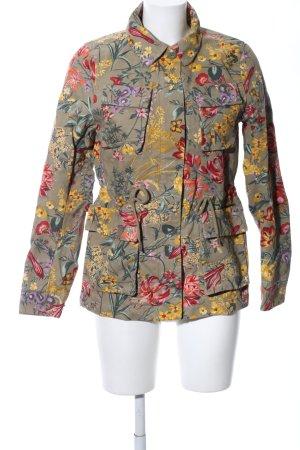 H&M Übergangsjacke Blumenmuster Casual-Look