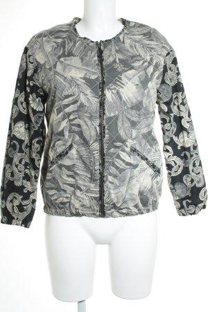 H&M Übergangsjacke florales Muster Casual-Look