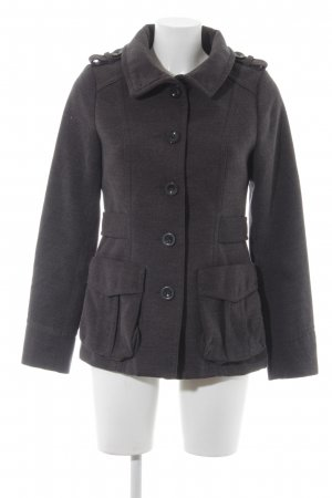 H&M Giacca mezza stagione grigio stile casual