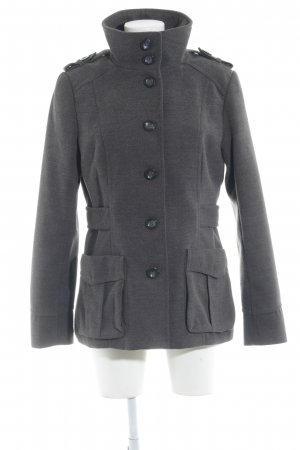 H&M Overgangsjack grijs casual uitstraling