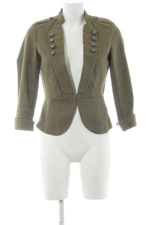 H&M Giacca mezza stagione grigio-verde stile casual
