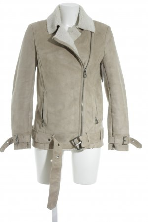 H&M Übergangsjacke hellbeige Street-Fashion-Look