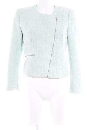 H&M Übergangsjacke mint Webmuster Casual-Look