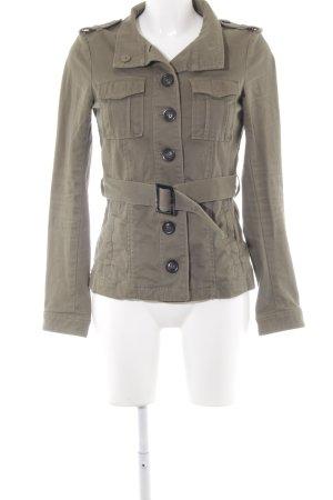 H&M Übergangsjacke olivgrün Casual-Look