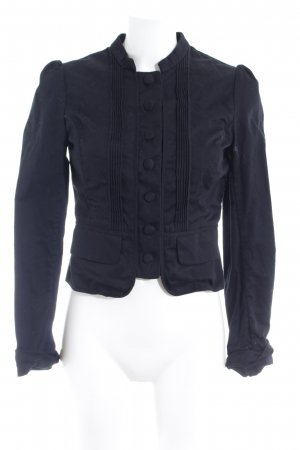 H&M Übergangsjacke schwarz Brit-Look